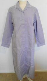 Alexandra Workwear Female Lavender Long Sleeved Coat. Size 18