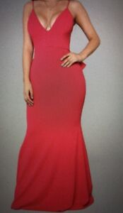 Backless Bodycon / Fitted Prom Dress