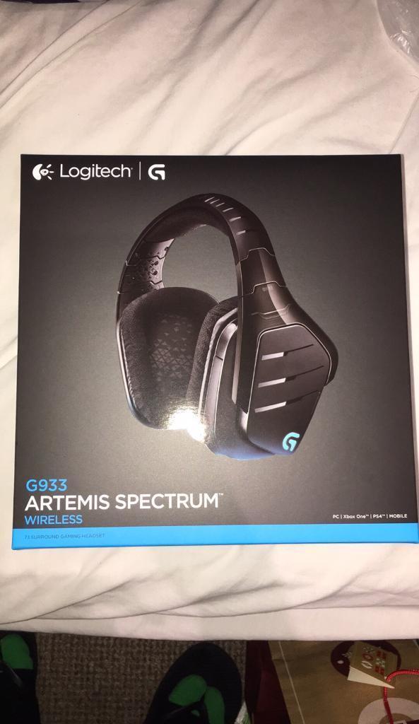 Logitech G933 Gaming Headset Artemis Spectrum 2 4 GHz Wireless 7 1 Surround  Sound Pro | in Hemel Hempstead, Hertfordshire | Gumtree