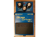 Boss BD-2 - Blues Driver Guitar Pedal.
