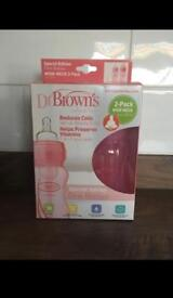 Dr browns limited edition pink
