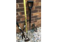 Sturdy garden tools for sale due to moving house