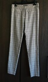 Women's Prince of Wales Check Trousers