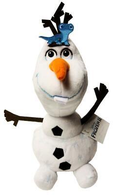 "New Disney Frozen 2 Olaf with Fire Spirit Salamander 8"" Stuffed Plush Toy"