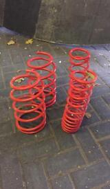 Suspension springs for a 1996 rover