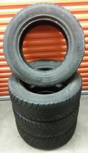 (ZH37) 4 Pneus Hiver - 4 Winter Tires 265-60-18 Goodyear
