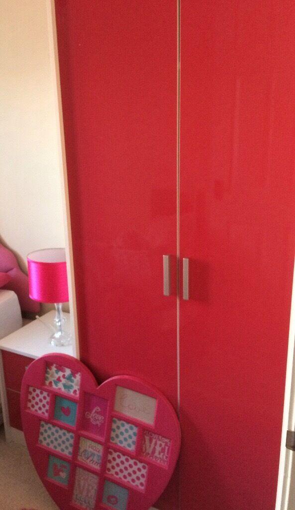 Pink Gloss Bedroom Furniture