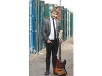 Professional Bass Guitar Lessons - Camden *Free Consultation Lesson*