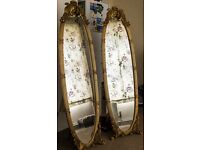 Free Standing Ornate Mirrors