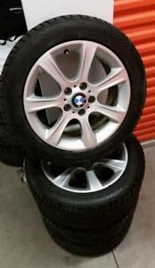 (H147) Pneus Hiver - Winter Tires 225-50-17 Gislaved 9/32