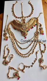 Indian jewellery, Pakistani Jewellery , Bridal set ,