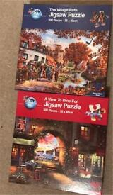 Jigsaw puzzles only used once