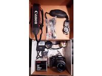 Canon EOS 550D / T2i DSLR Camera - Kit Lens & F1.8 Canon 50mm Lens & Accessories