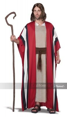 California Costume Shepherd Moses Adult Biblical Xmas Christmas Costume (Shepherd Adult Kostüm)