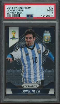 2014 Panini Prizm World Cup #12 Lionel Messi Mint PSA 9