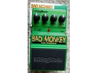 Digitech Bad Monkey Tube Overdrive Pedal - Like New Condition