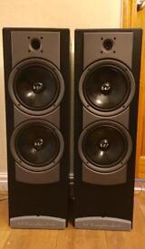 Wharfedale Atlantic 400 floor standing loudspeakers