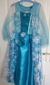 Disney Elsa Frozen dress 8-9yrs