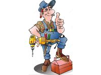 Handyman services at affordable prices.