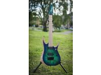 Ibanez RGDIX7MPB in Surreal Blue Burst [7-String]