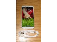 "LG G2 D802: White 5.2"" Smartphone ~ 16GB ~ Unlocked ~ Super Condition"