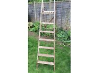 Wooden step ladder 6ft