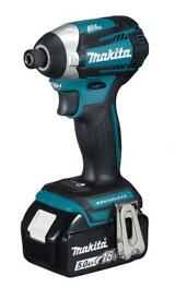 Makita 18v Brushless Impact Driver with speed variator, 5ah, charger