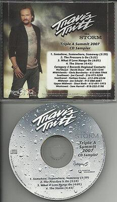 Travis Tritt Triple A 4Trk Sampler Tst Pressing Promo Dj Cd Single 2007