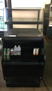 27.5   grab and go fridge duel  merchandiser ( cold and dry pastry area )