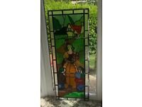 Stained glass of Snow White