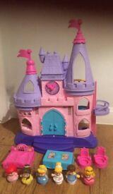 Little people Disney castle