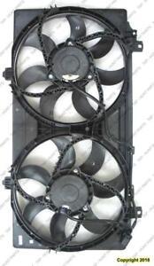 Cooling Fan Assembly 3.6L 6-Cylinder/6.2L 8-Cylinder Chevrolet Camaro 2010-2011