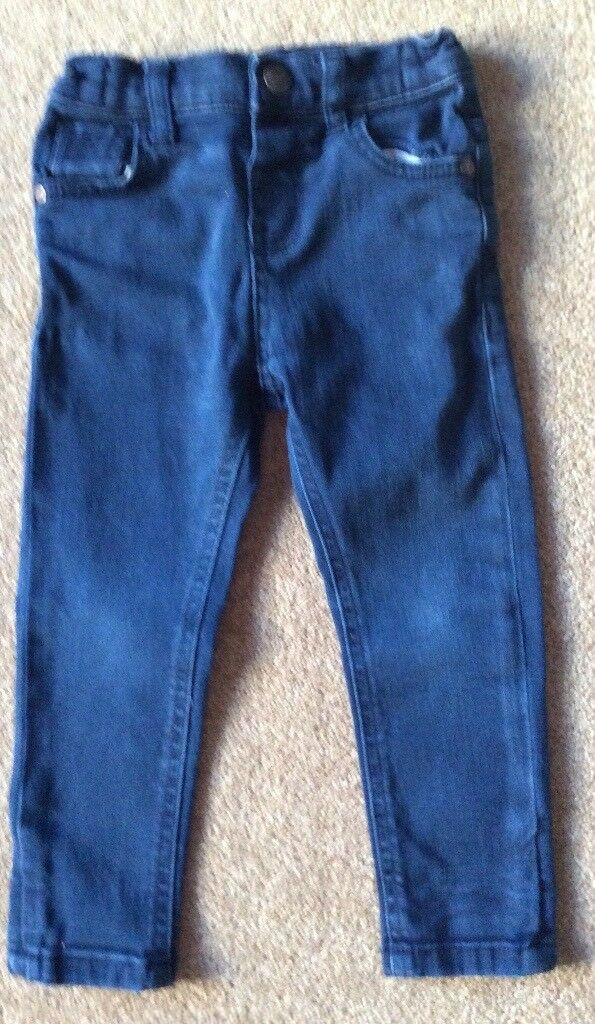 F&F Navy Boys Jeans 2 - 3 Years - Excellent Condition - £5