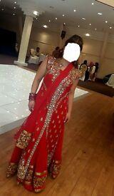 Red Lengha Dress