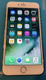 iPhone 6S Plus 128GB Unlocked, boxed, warranty