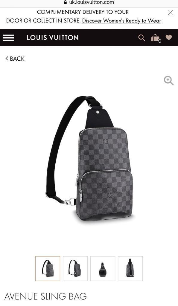 4fe273b5ceb Louis Vuitton Sling Bag Pouch   in Leicester, Leicestershire   Gumtree