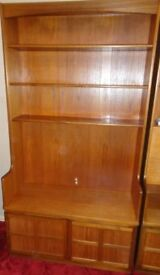 Furniture - TV Unit - Real wood - Teak - H103 x W102 cm - 40 yrs old so some wear & tear but solid