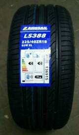 New tyres, any size or brand