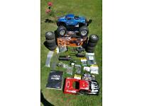 Rc Car Nitro Hpi Savage XL 4.6