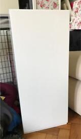 White gloss brand new kitchen wall unit 300mm