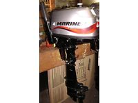 Mariner 4hp Short Shaft Four Stroke outboard motor Approx 15 hours use from new