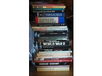 Large collection of books, animals Photography and art Mainly