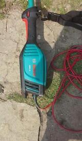 Bosch hedge trimmer 1000watts as new