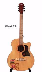 Acoustic Guitar for beginners students Natural 40 inch iMusic221