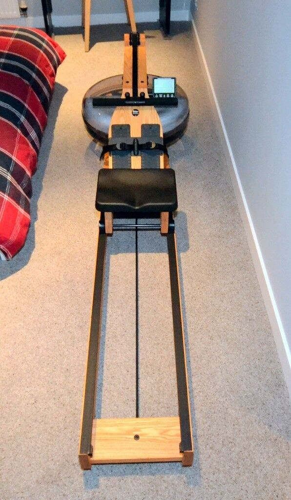 Waterrower Natural Rowing Machine with S4 Monitor - As New