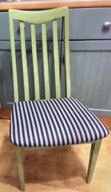 Fabulous Nathan chair which can be painted in any colour and reupholst