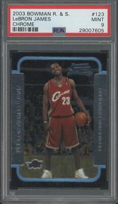 2003 Bowman Chrome #123 LeBron James RC Rookie Mint PSA 9