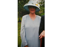 Mother of the Bride / Groom. Outfit Size 16 Including Hat and Bag