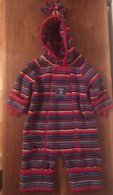 Jo Jo Maman Bebe snowsuit 0-3 months