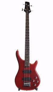 Bass Guitar Brand New Red Deviser iMEB263 Full size iMusicGuitar